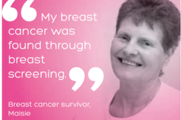 Breast cancer screening image